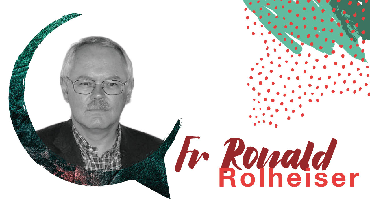 Fr Ronald Rolheiser - President of the Oblate School of Theology in San Antonio, Texas. He is a community-builder, lecturer, speaker and world-known author and writer. His retreats and teachings has inspired many towards spiritual formation throughout his life.